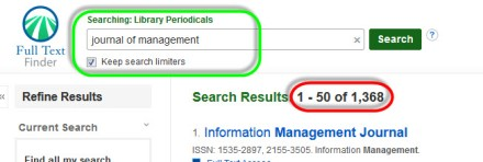 Image of Journal of Management Search results